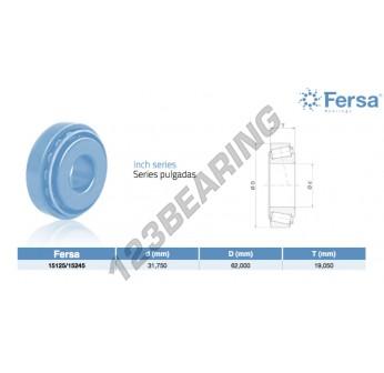15125-15245-ASFERSA - 31.75x62x19.05 mm