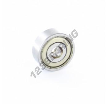 1601-ZZ-ZEN - 4.8x17.5x6.35 mm