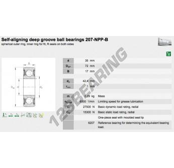207-NPP-B-INA - 35x72x17 mm