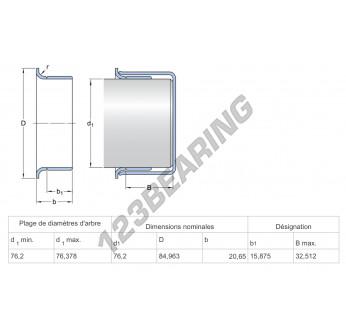 99048-SKF - 76.2x20.65 mm
