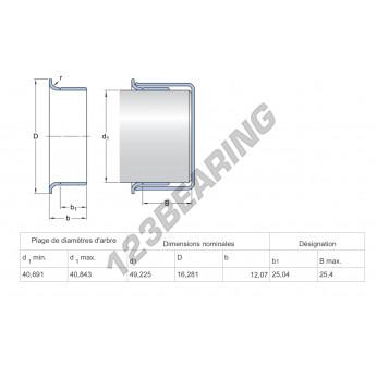 99160-SKF - 40x16.28 mm