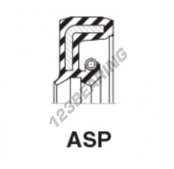 ASP-26X40X6-NBR - 26x40x6 mm
