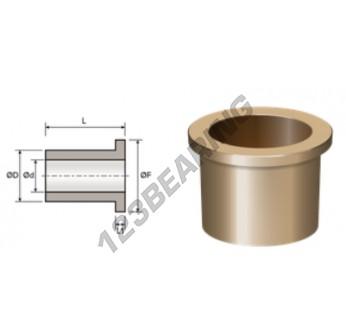BFMF28-33-38-2.5-22 - 28x33x22 mm