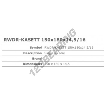 12018035B-CORTECO - 150x180x14.5 mm