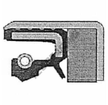 COMBI-48X65X16.5-SF6-FPM-CORTECO - 48x65x16.5 mm
