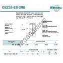 GEZ25-ES-2RS-DURBAL