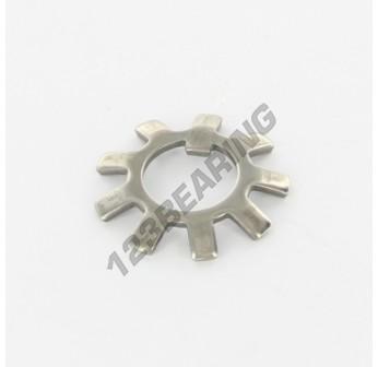 MB0-INOX - 10x21x1 mm