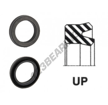 UP-164X177X7-NBR90 - 164x177x7 mm
